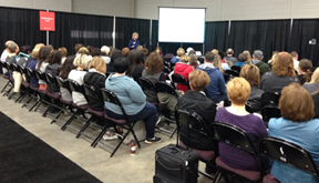 Training at Canadian Gift Show in Toronto